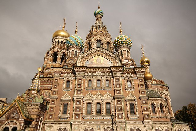 Church of Our Savior on Spilled Blood by: Ana Paula Hirama (CC)
