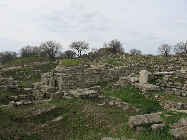 Ruins of Troy by: Peter (CC)