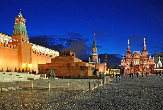 Red Square by: Dennis Jarvis (CC)