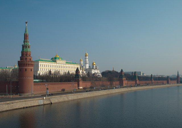 Moscow Kremlin by: Pavel Kazachkov (CC)