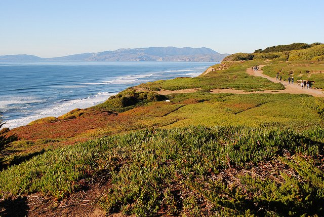 Fort Funston View North by: Brian Cantoni (CC)