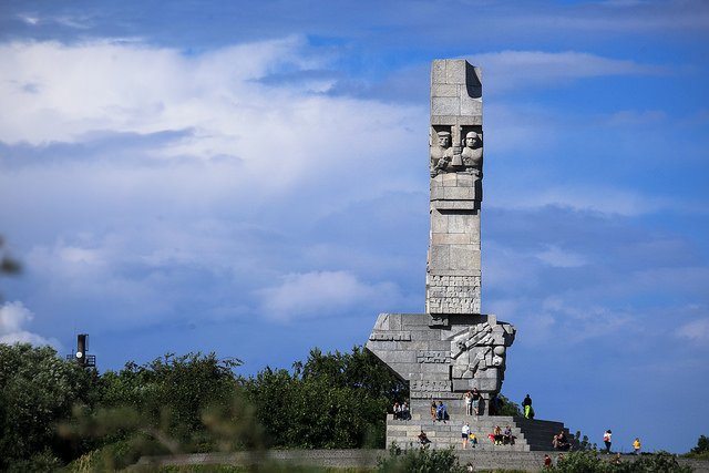 Westerplatte, Poland by: Ministry of Foreign Affairs of the Republic of Poland (CC)