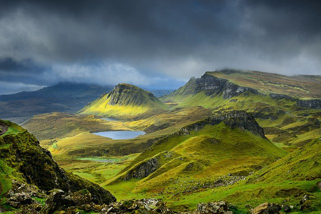 Clouds over Quiraing by: Luis Ascenso (CC)