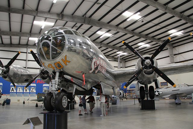 Boeing B-29 Superfortress at Pima Air & Space by: Clemens Vasters (CC)