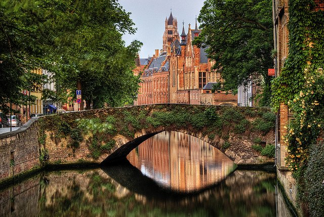 Bruges by: Wolfgang Staudt (CC)