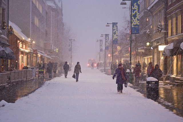 Vinterdag i Storgata by The Municipality of Tromso (CC)