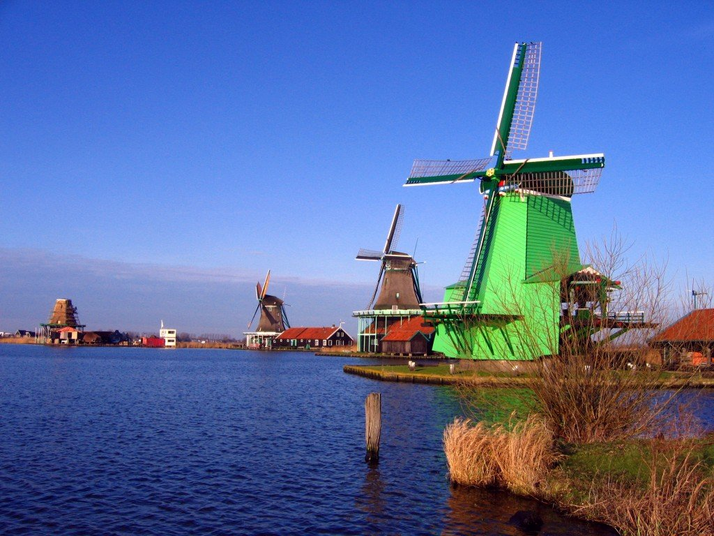 Windmills_in_Zaanse_Schans