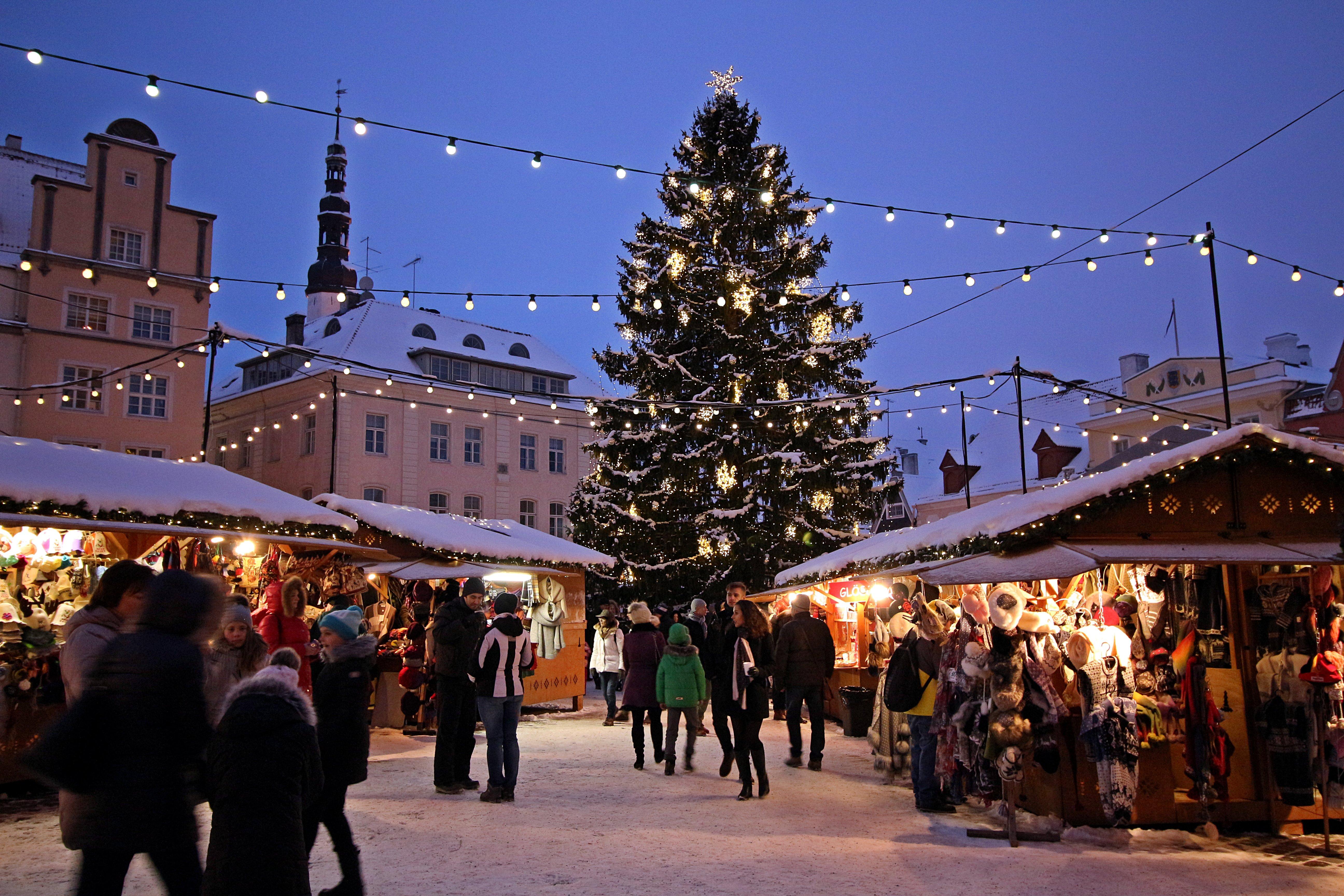 Christmas Market in Tallinn by Marit & Toomas Hinnosaar (CC)