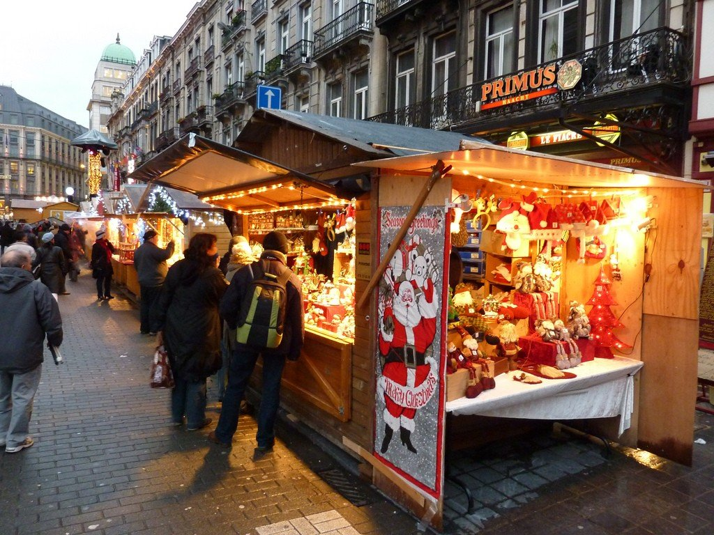 Brussels Christmas Market by: Gary Bembridge (CC)