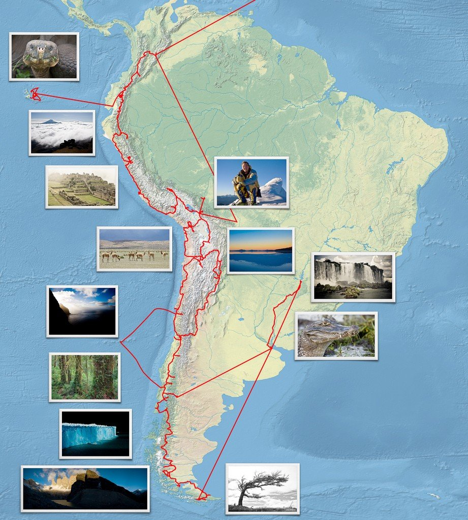 South America Itinerary with Photos