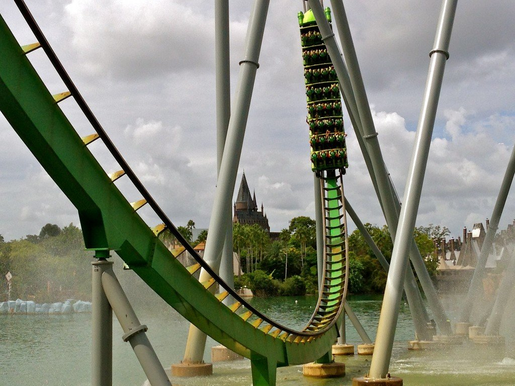 Hulk Coaster, Islands of Adventure, Orlando by: Jeff Kays (CC)