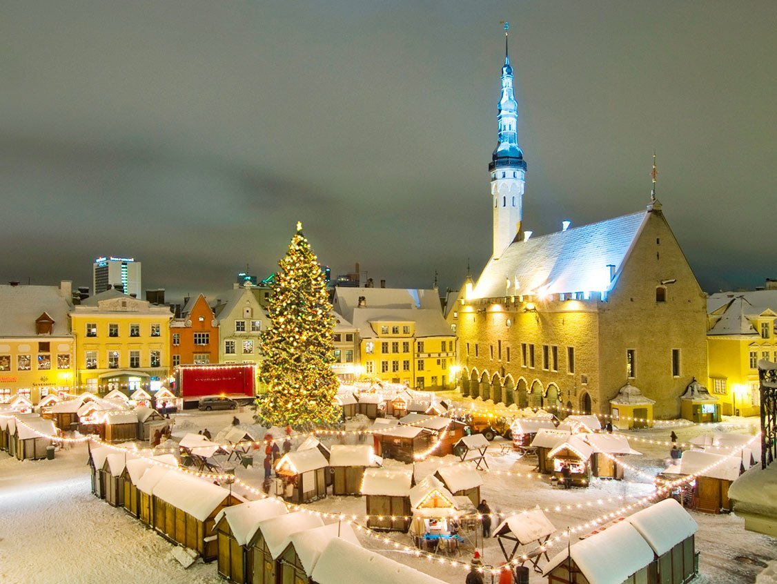 Christmas in Tallinn, Estonia by Nathan Lund (CC)