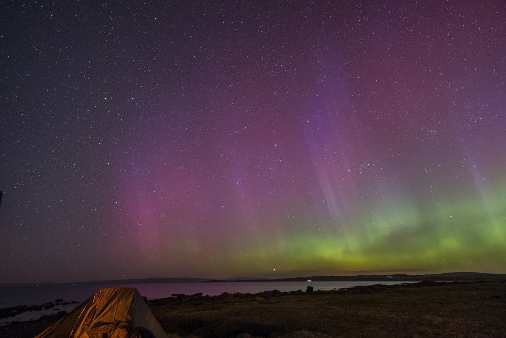 Aurora over Bute by: Mark (CC)