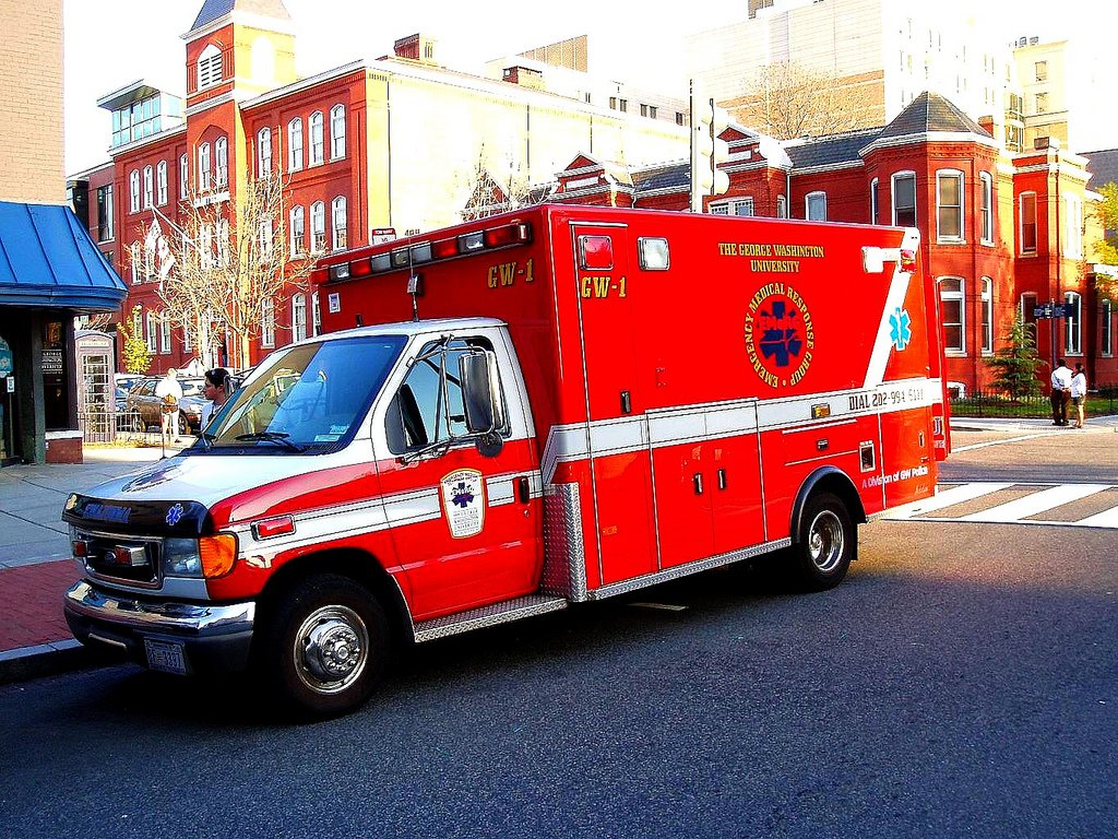 George Washington University Emergency Medical Response Group (EMeRG) by Lee Cannon (CC)
