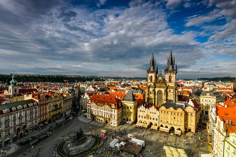The Grand Old Town of Prague by mendhak (CC)