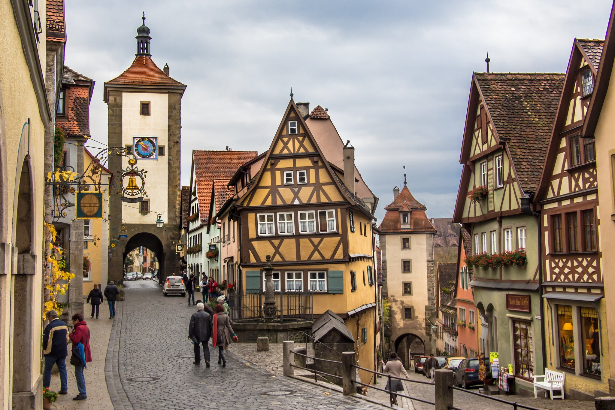 Rothenburg ob der Tauber by Luftphilia (CC)