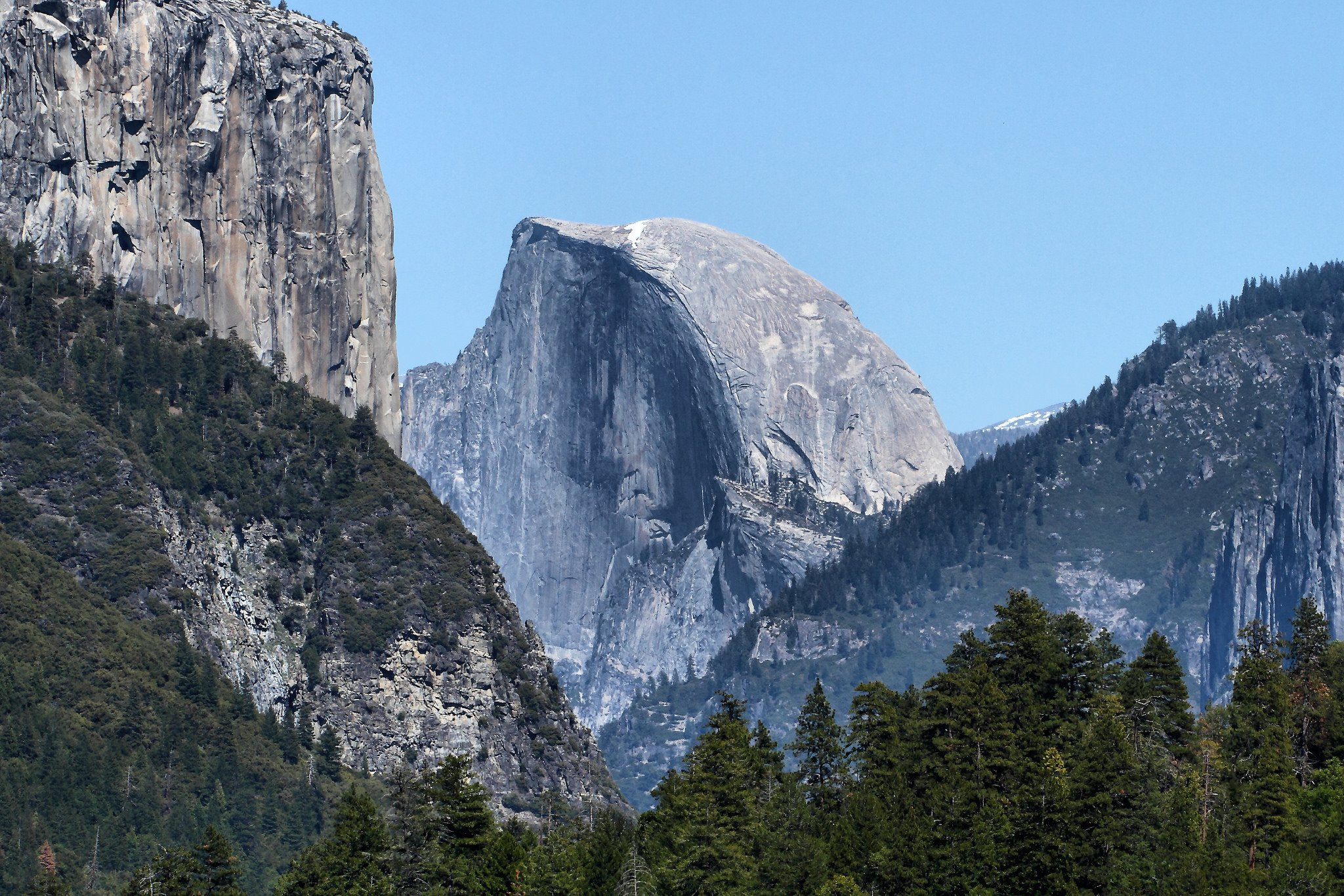 Half Dome Yosemite National Park by: Airwolfhound (CC)