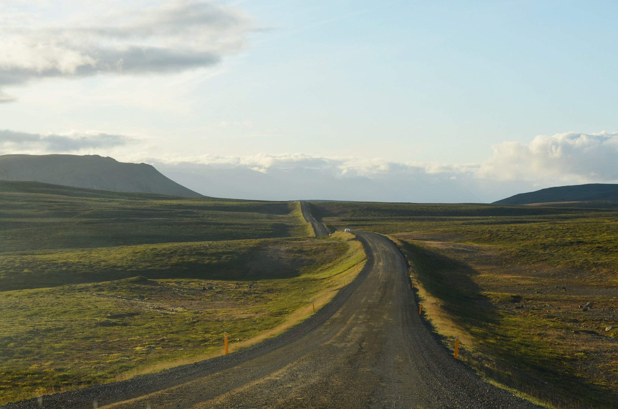 On the road near Myvatn by Nick (CC)