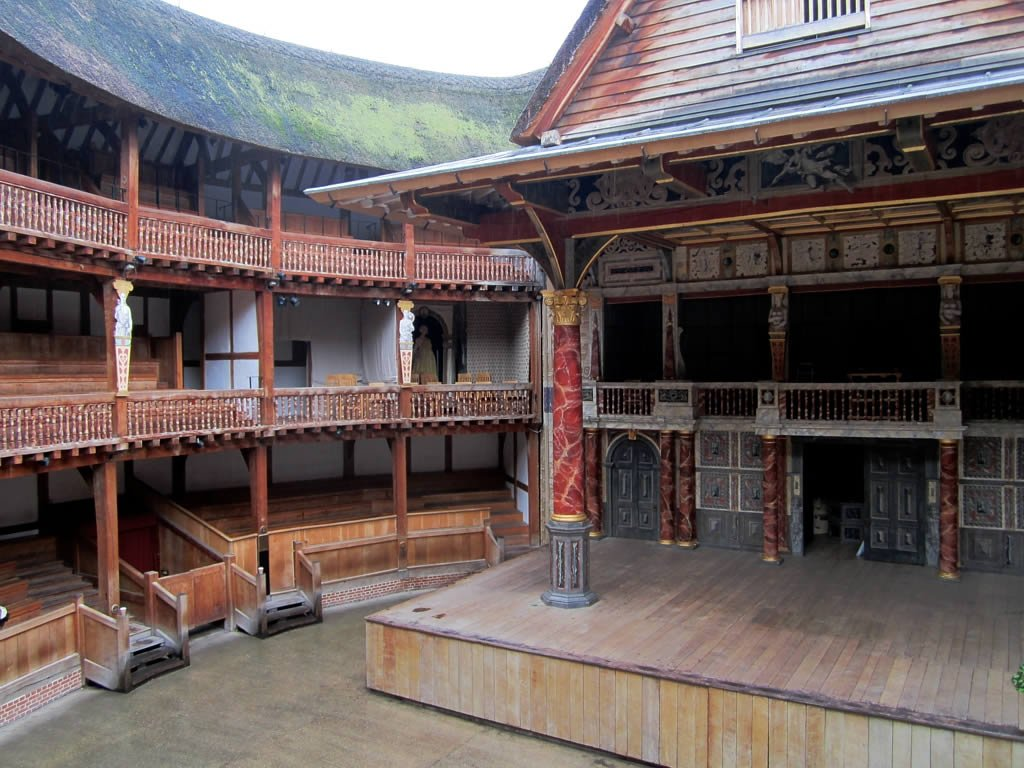 Shakespeare's Globe by: David Stanley (CC)