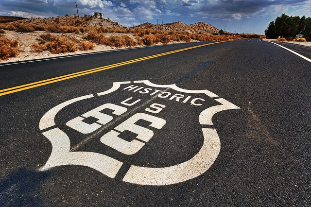 Historic Route 66 by: Randy Heinitz (CC)