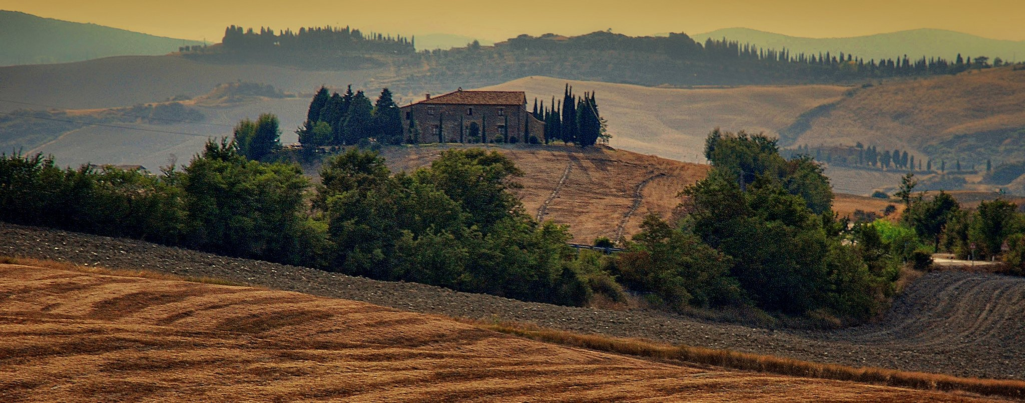 Tuscan landscape by: Eric Huybrechts