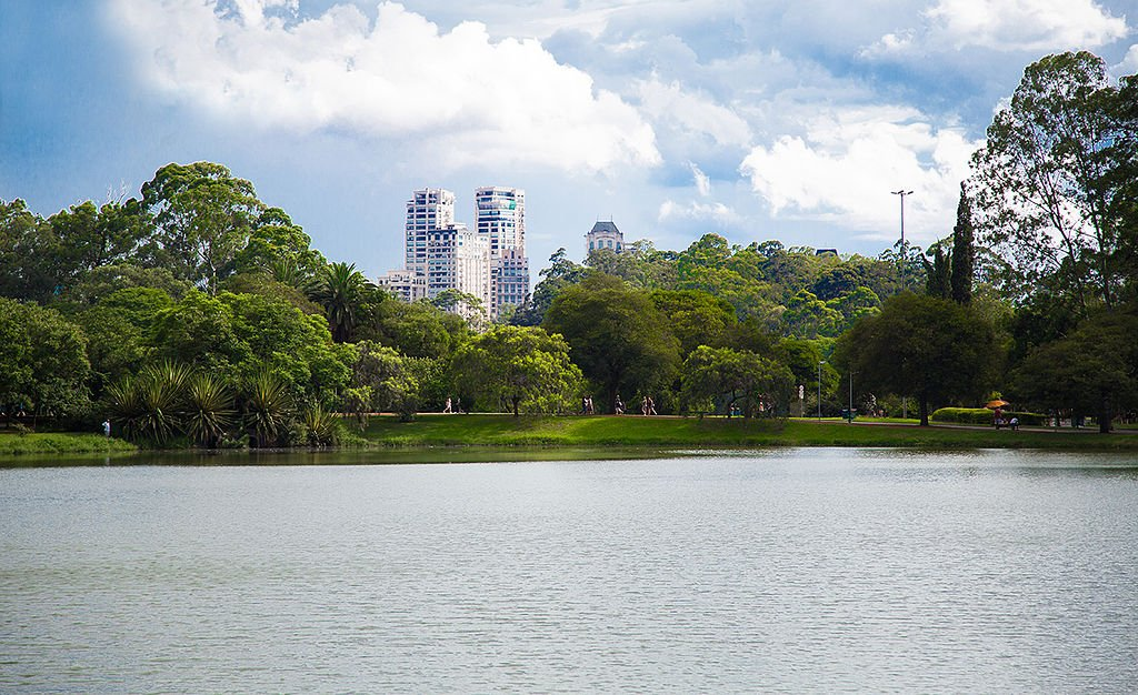 Lago do Parque do Ibirapuera by Xctu (CC)
