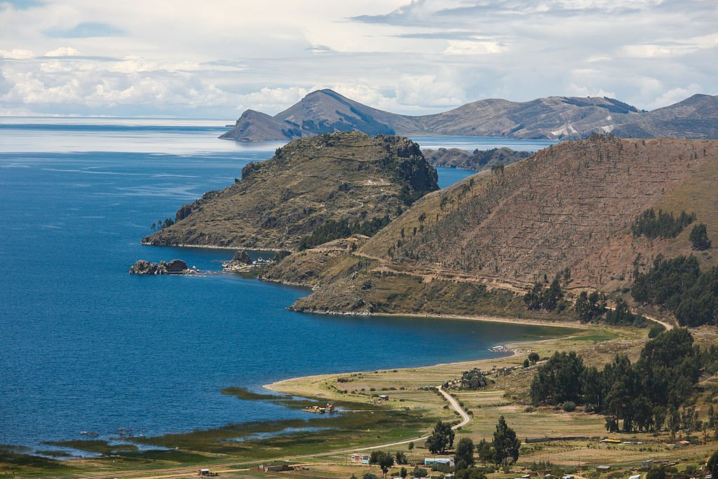 Lake Titicaca - Road to Bolivia by Alex Proimos (CC)