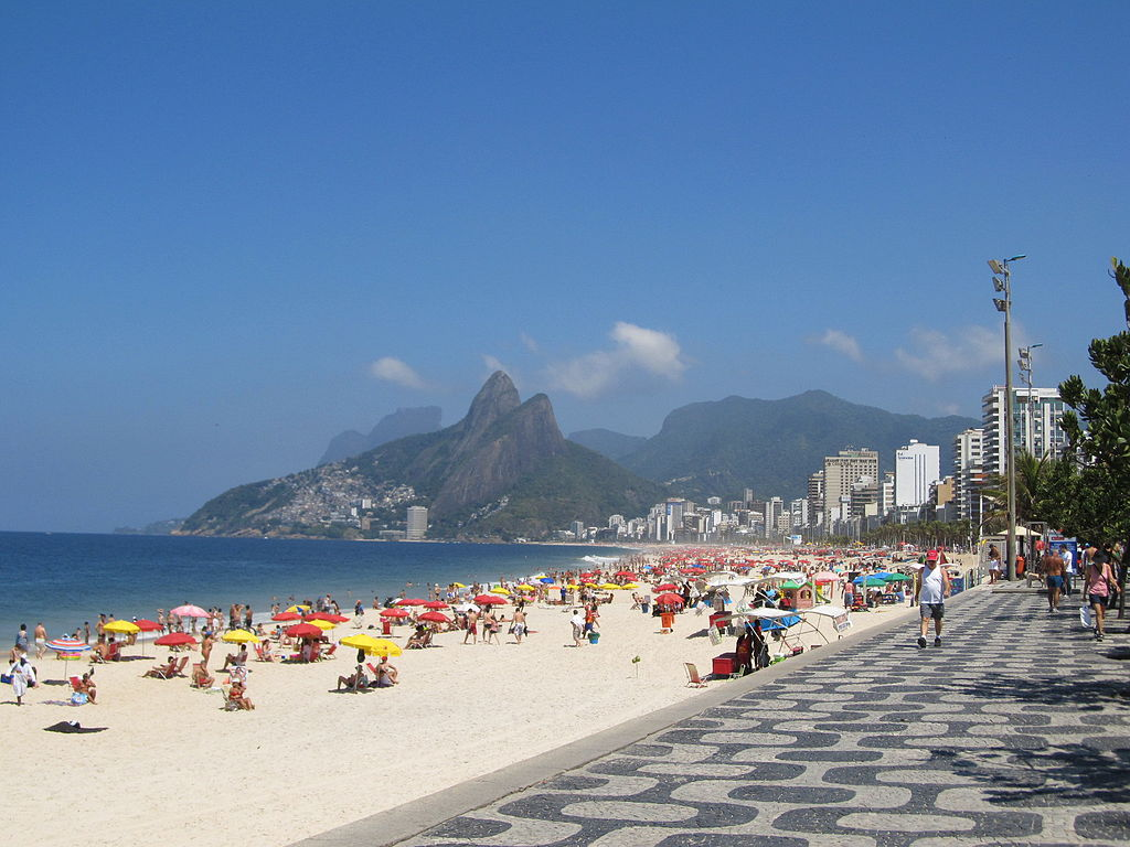 Ipanema Beach by Jorge Andrade