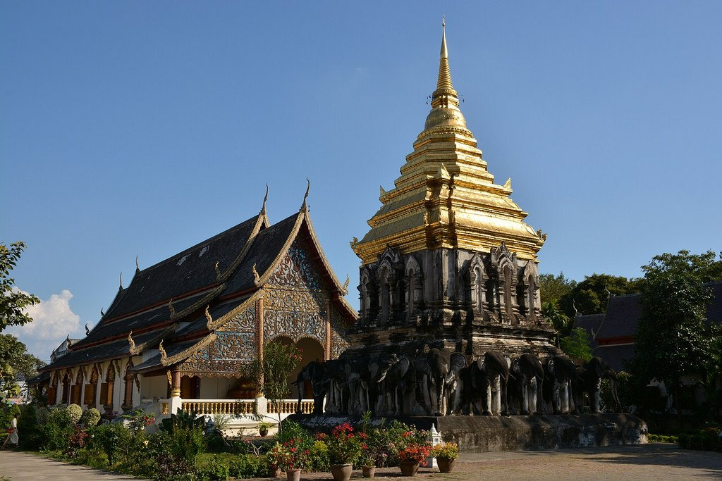 Wat Chiang Man in Chiang Mai by: Paul Arps (CC)