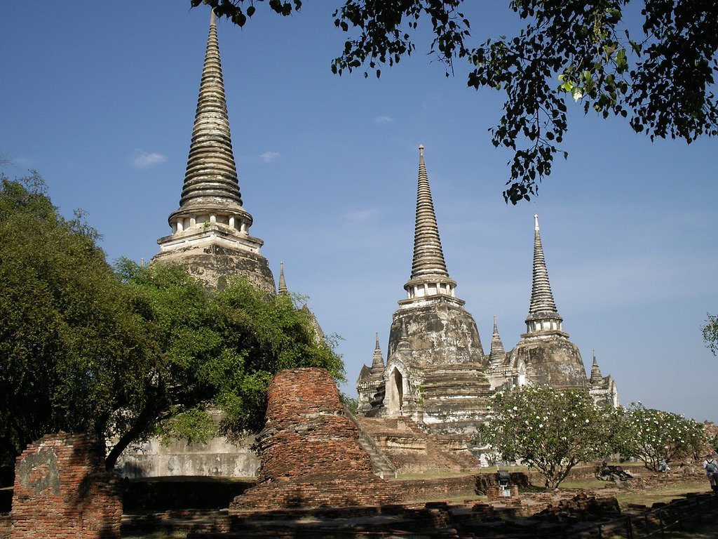Ayutthaya by: Rev Stan (CC)