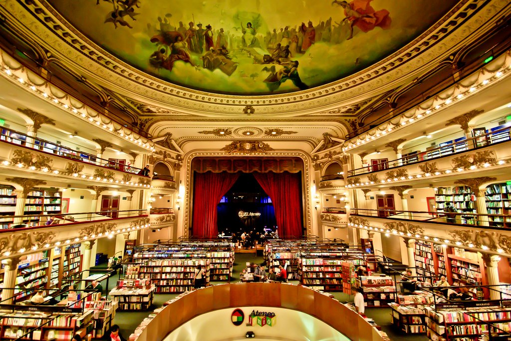 El Ateneo Grand Splendid by Christian Jiménez (CC)