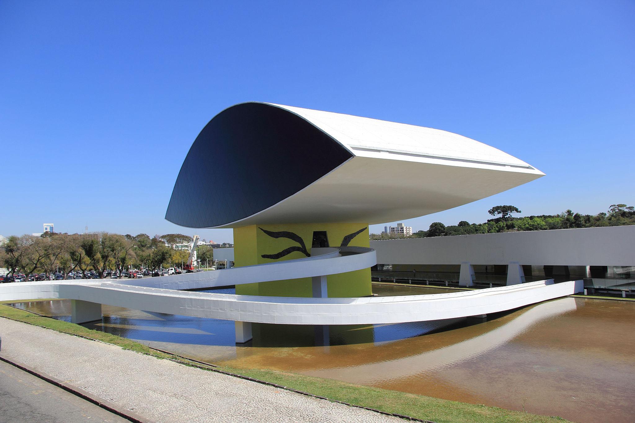 Museu Oscar Niemeyer by Halley Pacheco de Oliveira