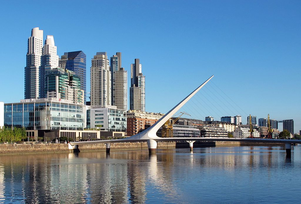 Buenos Aires - Puerto Madero by By Andrzej Otrębski (CC)