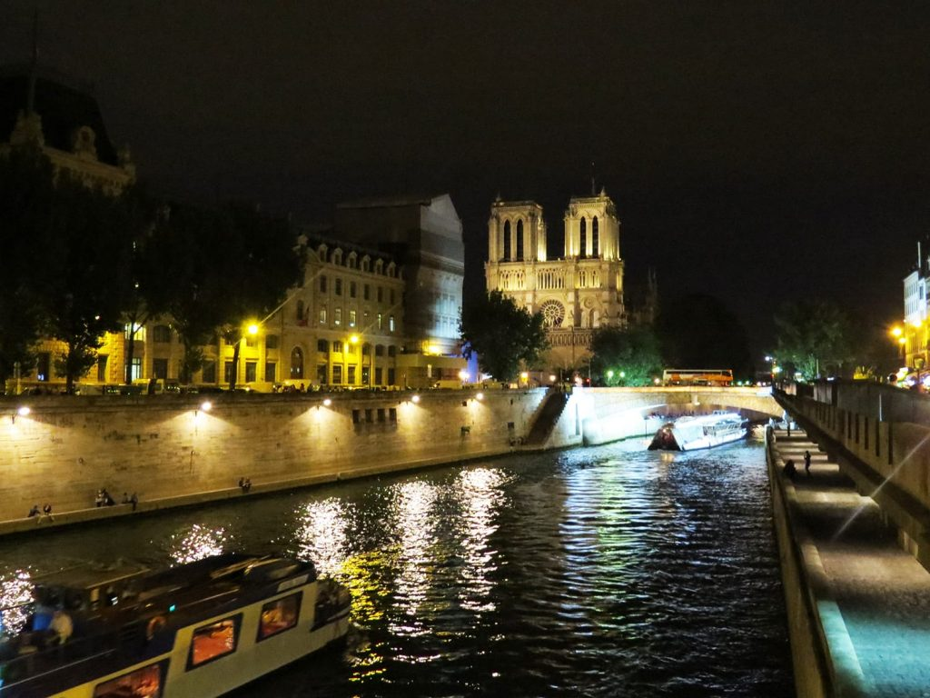 Stunning Notre Dame right by the Seine